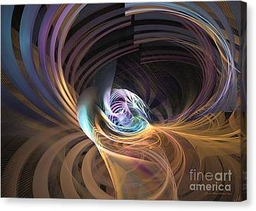Your Inner Cosmos Exceeds The Outer One Canvas Print
