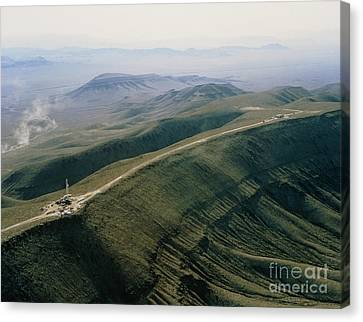 Yucca Mountain Site, Nuclear Waste Canvas Print by U.S. Department of Energy