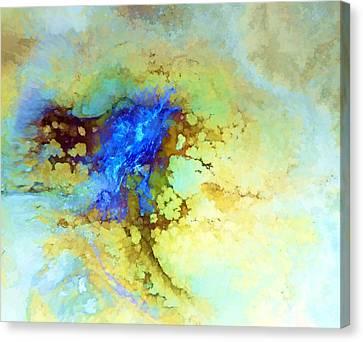 Ceramic Glazes Canvas Print - Yunomi Dreams by Bill Morgenstern