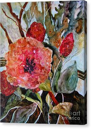 Yupo Floral Canvas Print