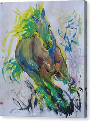 Z Axix Canvas Print