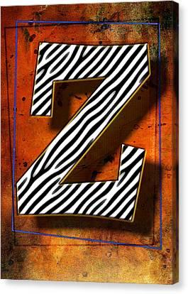 Z Canvas Print by Mauro Celotti