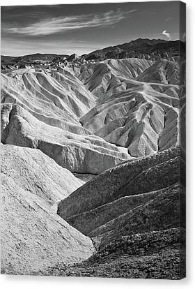 Zabriskie Point Canvas Print by Jauder Ho / jauderho.com