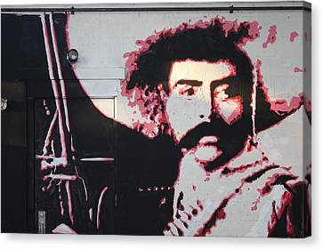 Zapata Canvas Print by Dustin Spagnola