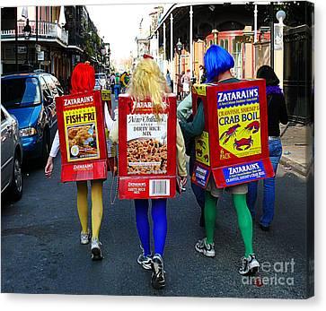 Zatarains Mardi Gras Canvas Print