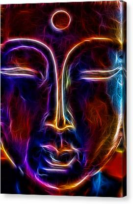 Canvas Print featuring the photograph Zen Glow by Joetta West