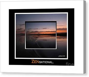 Zensational 1 Canvas Print by Judee Stalmack
