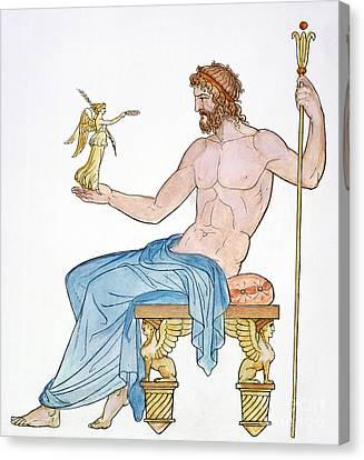 Zeus Canvas Print by Granger