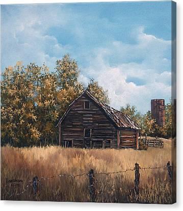Zoe's Barn Canvas Print