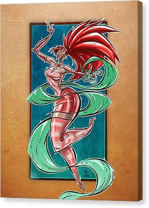 Zola Canvas Print by Jayson Green