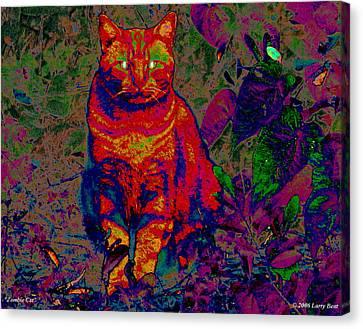 Zombie Cat Canvas Print