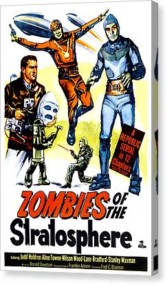 Zombies Of The Stratosphere, 1952 Canvas Print by Everett
