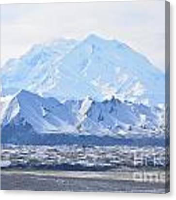 Denali Canvas Print by Kate Avery