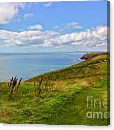 Edge Of The World Canvas Print by Jeremy Hayden