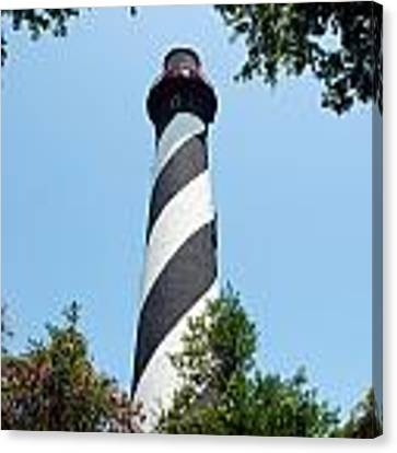 St. Augustine Lighthouse Canvas Print by Beverly Stapleton