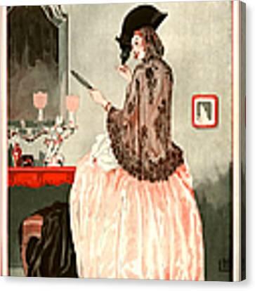 1920s France La Vie Parisienne Magazine Canvas Print by The Advertising Archives