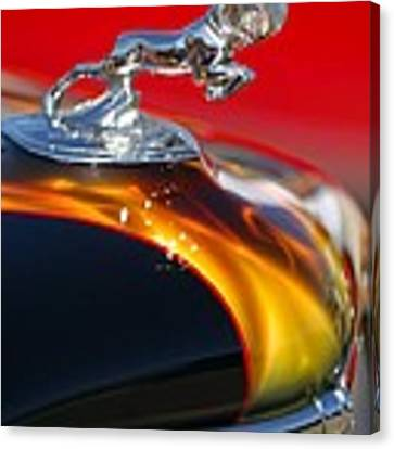 1936 Dodge Ram Hood Ornament 1 Canvas Print