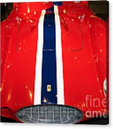 1955 Ferrari 750 Monza Scaglietti Spider Dsc2663 Canvas Print by Wingsdomain Art and Photography