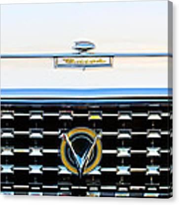1959 Buick Lesabre Hood Ornament Canvas Print