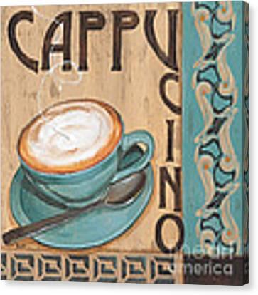 Cafe Nouveau 1 Canvas Print