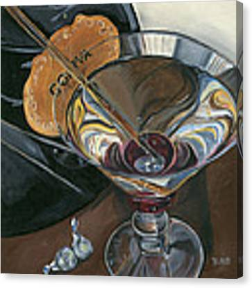 Chocolate Martini Canvas Print