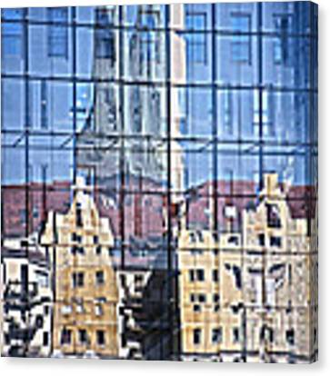 Mirror On The Wall Canvas Print by Heiko Koehrer-Wagner