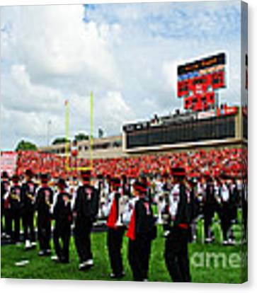 The Going Band From Raiderland Canvas Print by Mae Wertz