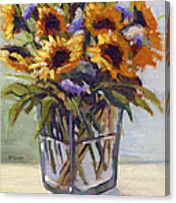 Summer Bouquet 4 Canvas Print by Konnie Kim