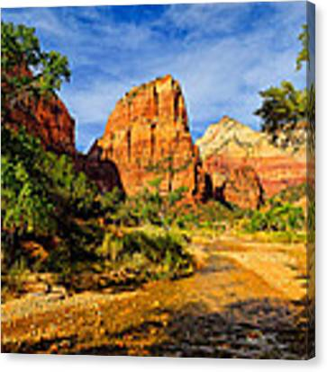 Angel's Landing Canvas Print by Greg Norrell