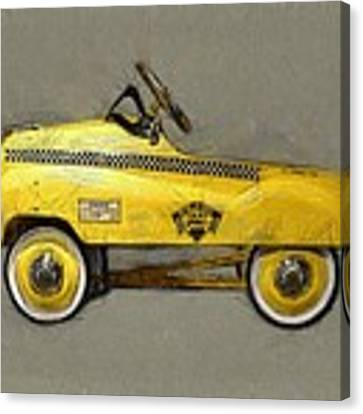 Antique Pedal Car Lll Canvas Print