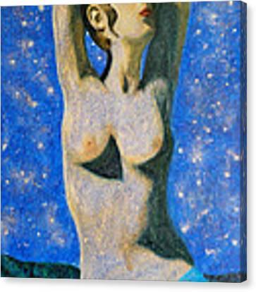 Aphrodite  Canvas Print by Augusta Stylianou