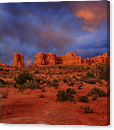 Arches Last Light Canvas Print by Greg Norrell