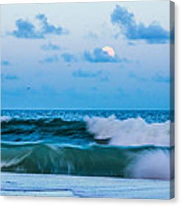 August Blue Moon Canvas Print by Francis Trudeau