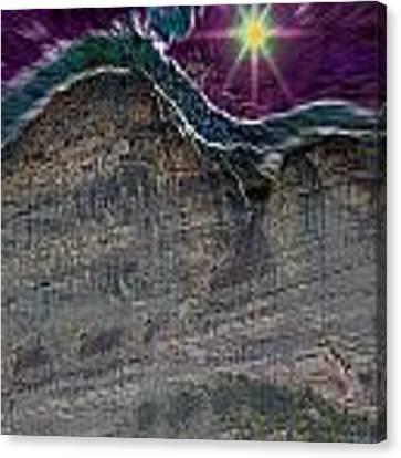 Beautiful Star Canvas Print by Augusta Stylianou