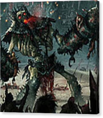 Carnage Gladiator Canvas Print