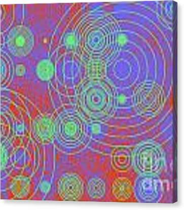 Circle Of Love  II Canvas Print by Ilona Svetluska