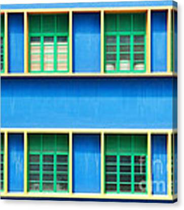 Colorful Windows Canvas Print by Yew Kwang