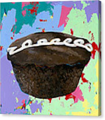 Cupcake #3 Canvas Print by David Palmer