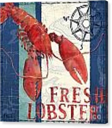 Deep Sea Lobster Canvas Print