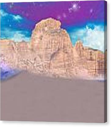Dreaming Landscape Canvas Print by Augusta Stylianou