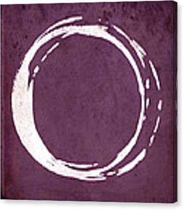 Enso No. 107 Magenta Canvas Print