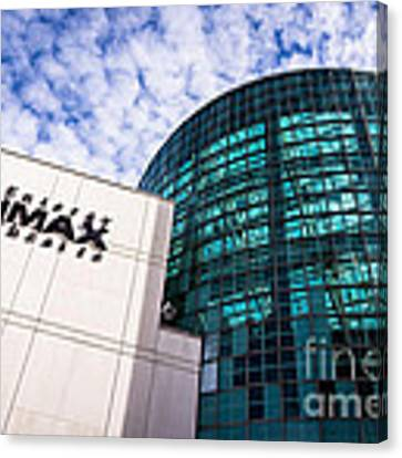 Entergy Imax Theatre In New Orleans Canvas Print