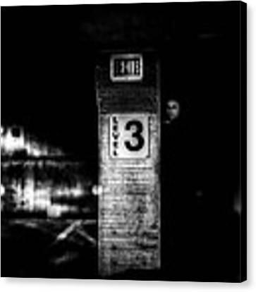 Exit Level 3 Canvas Print by Bob Orsillo