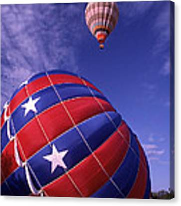 Fort Worth Balloons Canvas Print by Wesley Elsberry