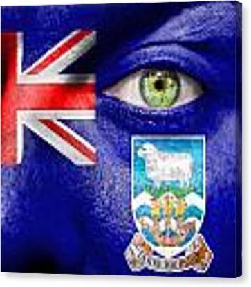 Go Falkland Islands Canvas Print