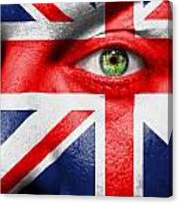 Go United Kingdom Canvas Print