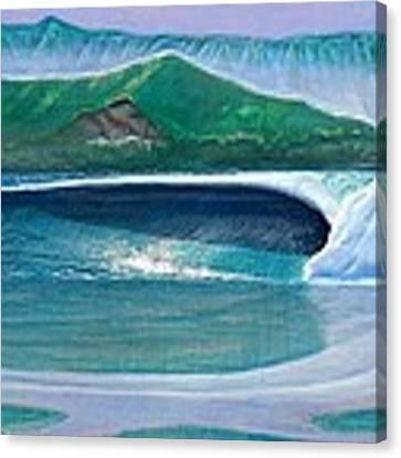 Hanalei Canvas Print by Nathan Ledyard