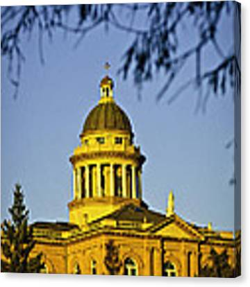 Historic Auburn Courthouse 5 Canvas Print by Sherri Meyer