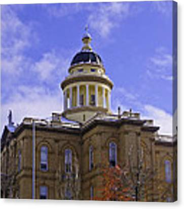 Historic Auburn Courthouse 7 Canvas Print by Sherri Meyer