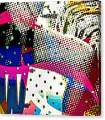 Incognito Canvas Print by Eleni Mac Synodinos